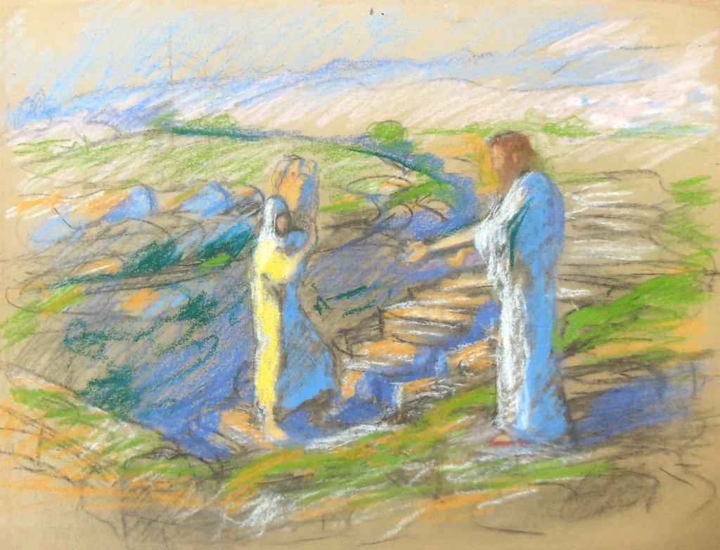 Scène biblique