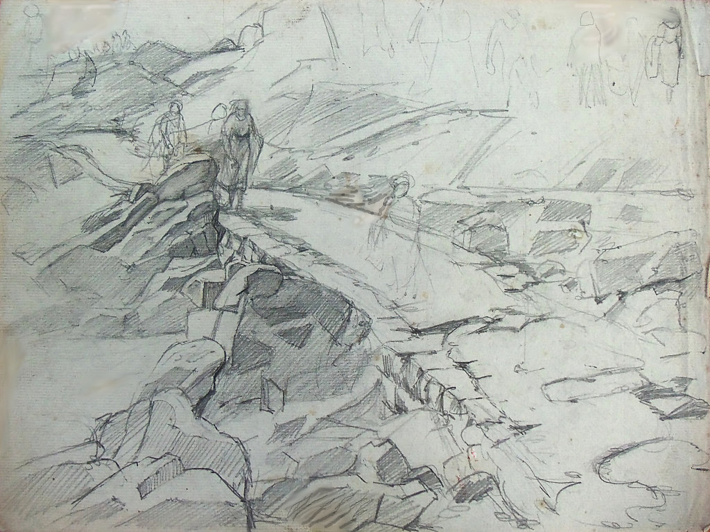 Bréhat Esquisse1922