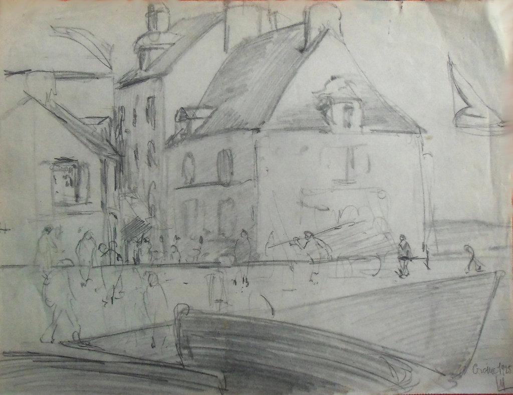 Le Croisic, 1925