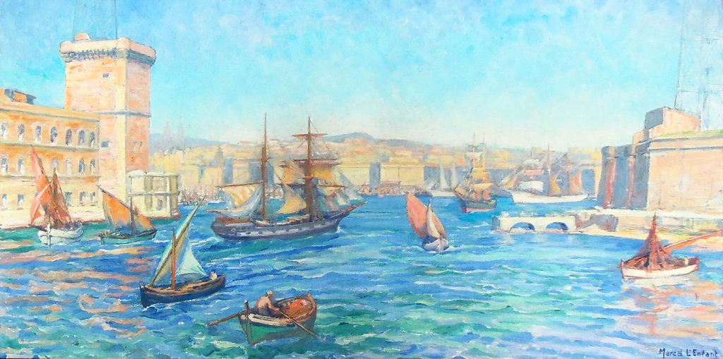 Marseille, Entrée du Vieux-Port