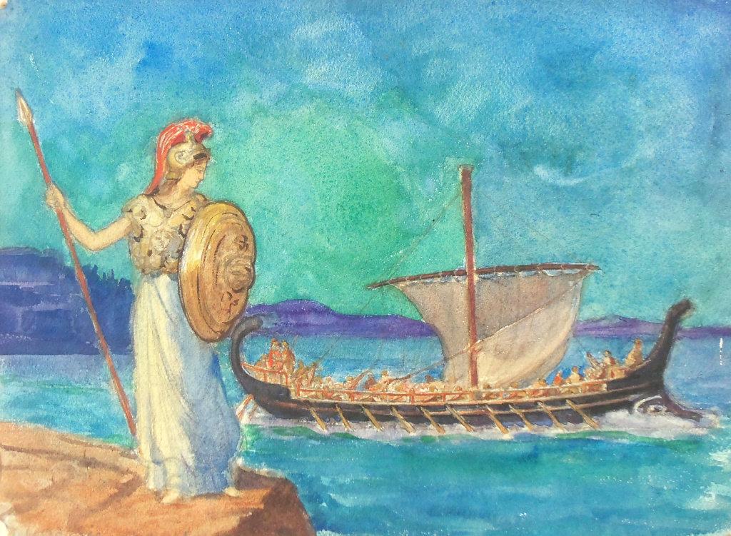 L'Odyssée, Chant 1