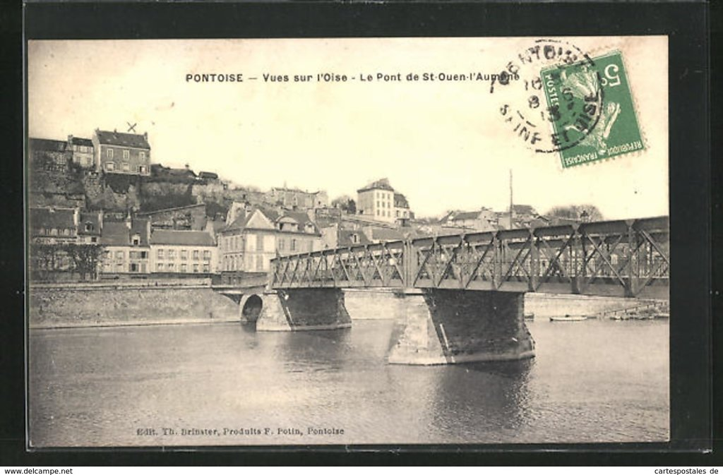 photo du pont sur l'Oise