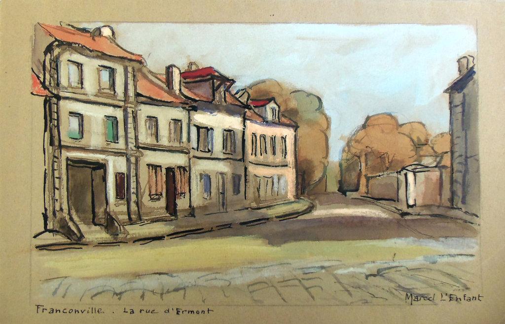 Franconville, Rue d'Ermont