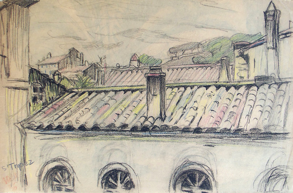 Toits de Saint Tropez