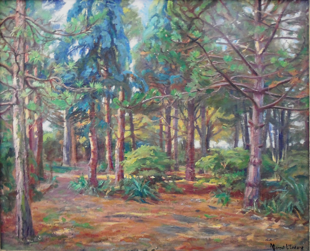 Franconville, Parc du peintre