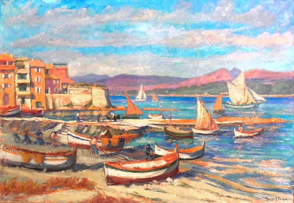 Saint Tropez, Le retour de pêche