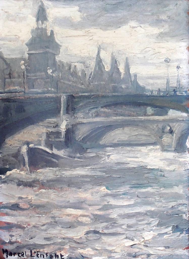 La Conciergerie vue de la Seine, Paris