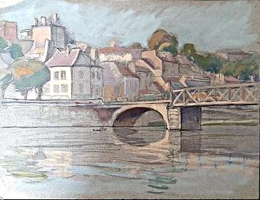 Pontoise - Le Pont sur l'Oise