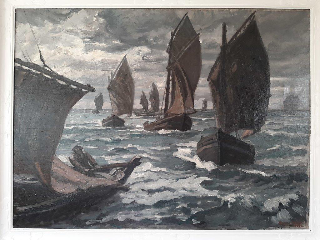 rentrée de pêche à Dieppe